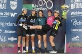 PRESS RELEASE...NO REPRODUCTION FEE...Ras na mBan 9/9/2018 Stage 6 Kilkenny- Race winner France's Coralie Demay celebrates with her teammates  Pic : Lorraine O'Sullivan